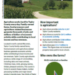 Taylor County Ag: Value and Impact 2014