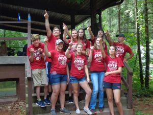 4-H camp 2017 Counselors