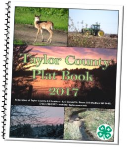 2017 Taylor County Plat Book cover