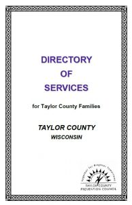 Directory of Services for Taylor County Residents cover